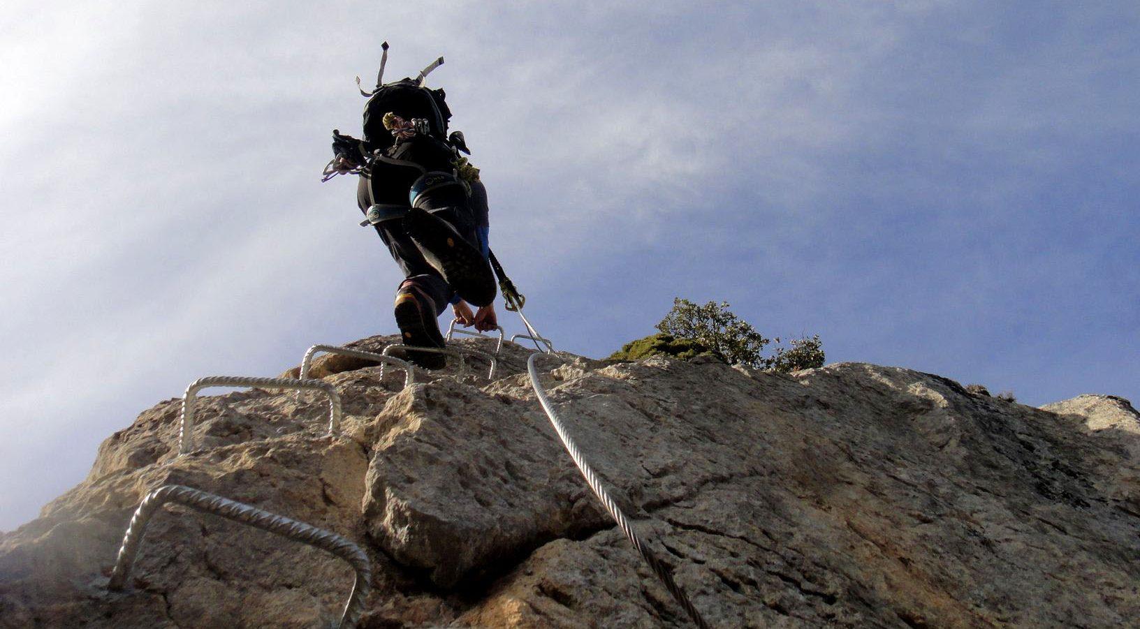 cabecera vias ferratas en pirineos