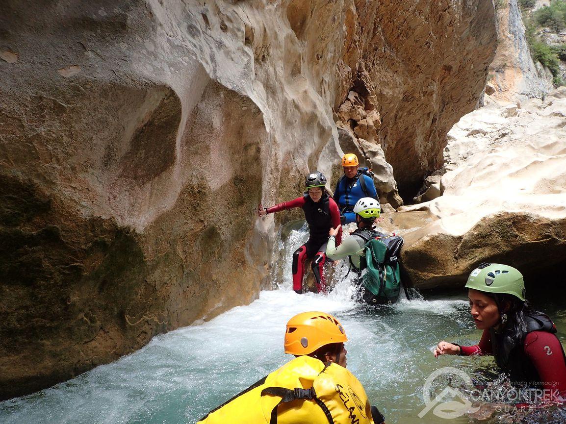 Canyon de la Peonera Supérieur