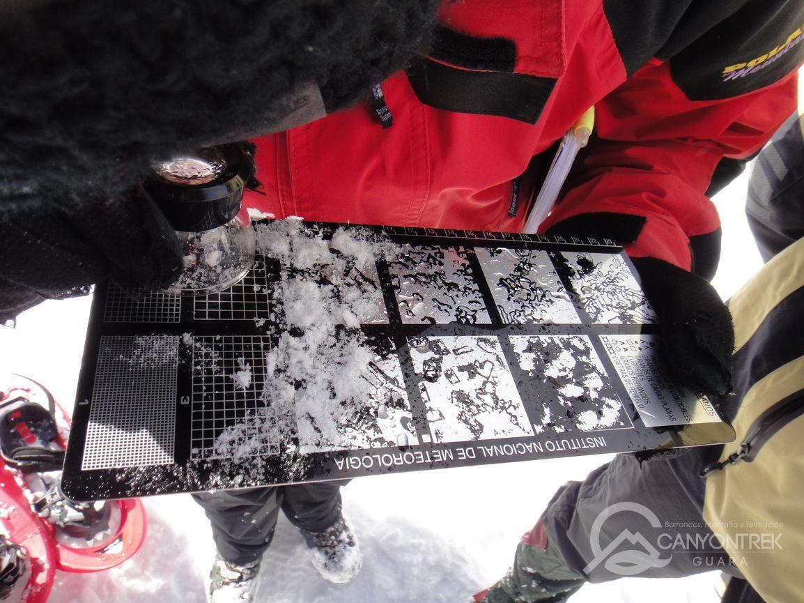 Control del tipo de nieve