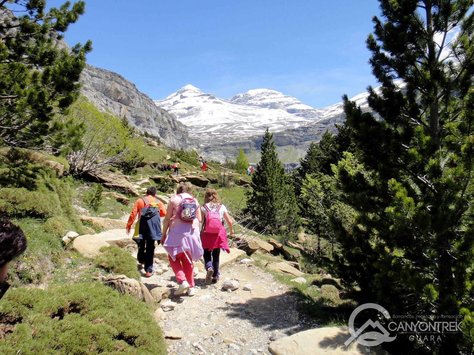 Senderismo en el valle de Ordesa