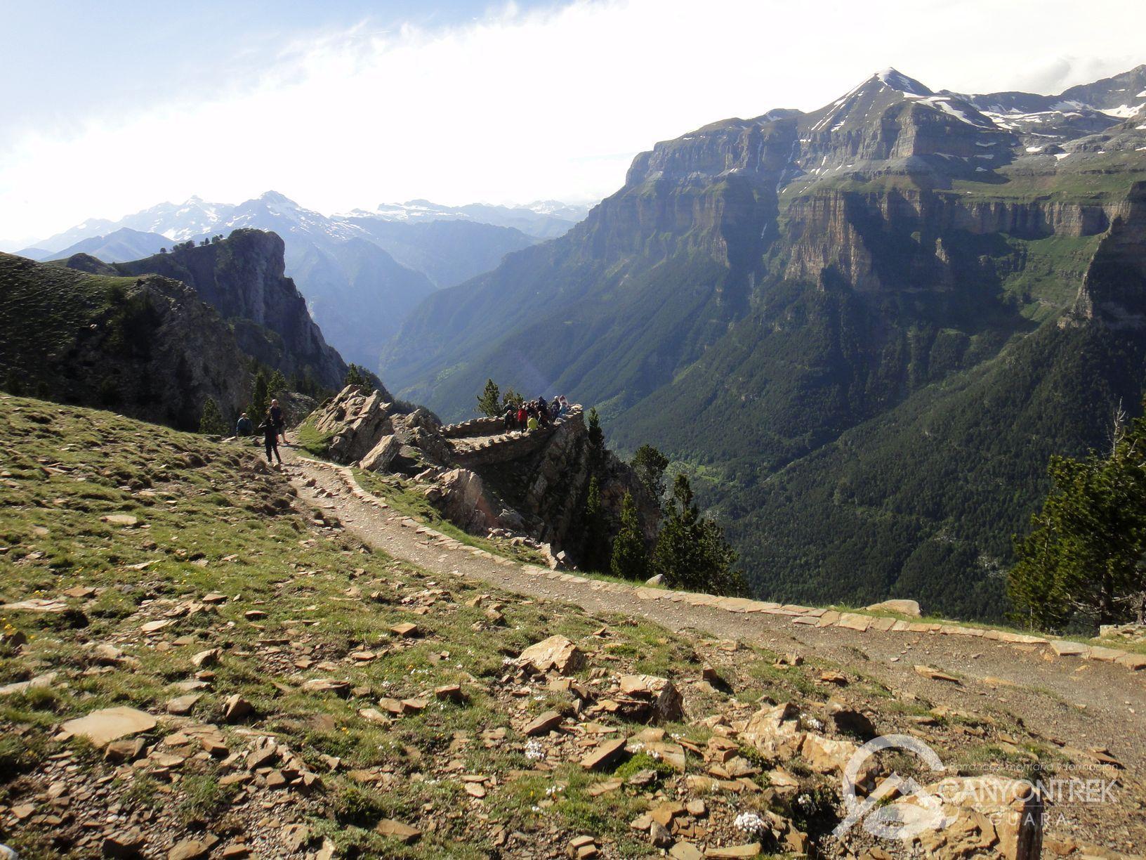 Miradores del valle de Ordesa