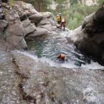 trigoniero barranquismo en pirineos valle de bielsa