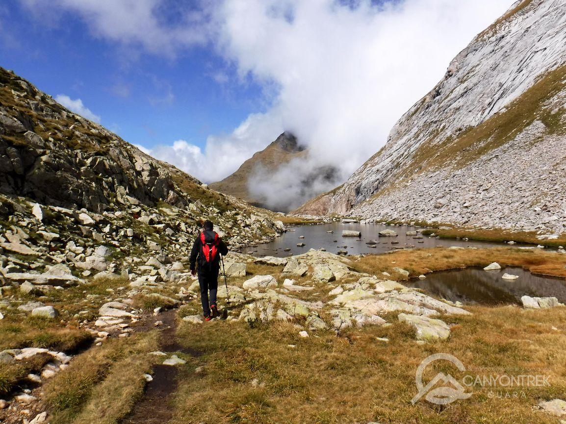 Pico de Mulleres (3010 m.) desde Besurta