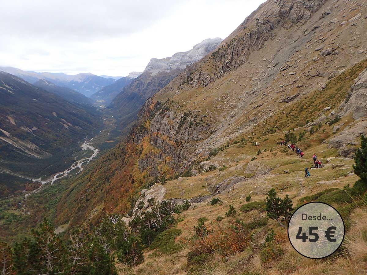 Faja Tormosa en el valle de Pineta